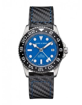 MARC & SONS Diver Watch Automatic GMT ETA 2893-2 MSG-007--4-LS-C3