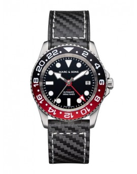 MARC & SONS Diver Watch Automatic GMT ETA 2893-2 MSG-007-5-C1