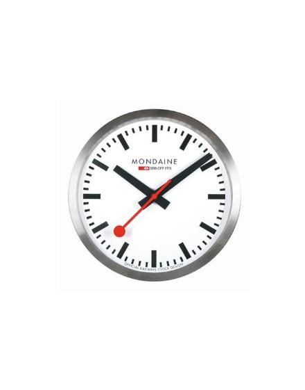 Clocks Msm Reloj Cm Mondaine Clock 25 Wall Stop2go 25s10 Yf7gIby6v