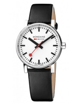 Reloj Mondaine SBB Evo2 MSE.35110.LB