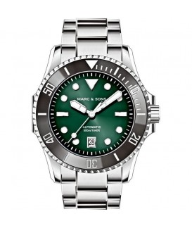 MARC & SONS Diver Watch Professional III Automatic MSD-047-3S