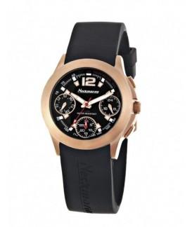 Wally Multifunction Neckmarine Women Rubber Bracelet Watch NKM876002