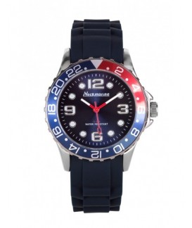 Metal Flash Neckmarine Women Silicone Bracelet Watch NKM42005