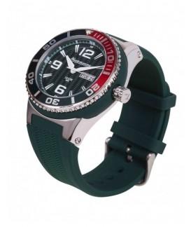 Big Neckmarine Men Leather Bracelet Watch NM98109