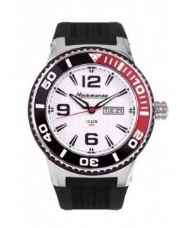 Big Neckmarine Men Leather Bracelet Watch NM98112