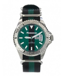 Cockpit Neckmarine Men Leather Bracelet Watch NKM99210