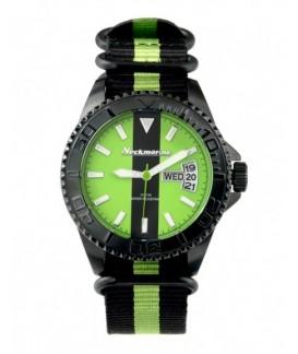 Cockpit Neckmarine Men Leather Bracelet Watch NKM99214