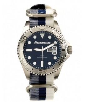 Cockpit Neckmarine Men Leather Bracelet Watch NKM99305