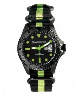 Cockpit Neckmarine Men Leather Bracelet Watch NKM99310