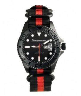 Cockpit Neckmarine Men Leather Bracelet Watch NKM99306