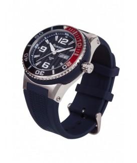 Big Neckmarine Men Leather Bracelet Watch NM98105