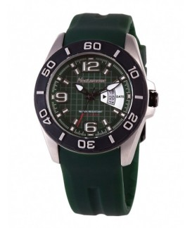 X-Treme Steel Neckmarine Men Leather Bracelet Watch NM-X1488J02