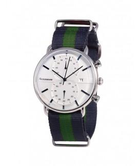 Vintage Crono Neckmarine Men Textile  Bracelet Watch NKM935J10