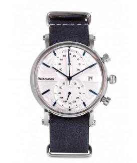 Vintage Crono Neckmarine Men Textile  Bracelet Watch NKM935J03