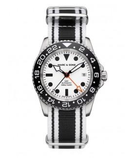 MARC & SONS Diver Watch Automatic GMT ETA 2893-2 MSG-007-8-LS-T12