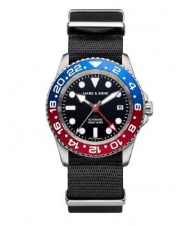 MARC & SONS Diver Watch Automatic GMT ETA 2893-2 MSG-007-7-T5