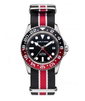 MARC & SONS Diver Watch Automatic GMT ETA 2893-2 MSG-007-5-T17