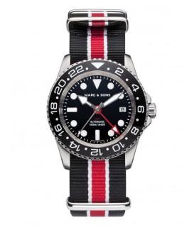 MARC & SONS Diver Watch Automatic GMT ETA 2893-2 MSG-007-3-T17