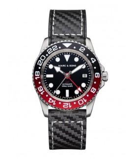 MARC & SONS Diver Watch Automatic GMT ETA 2893-2 MSG-007-5-C1