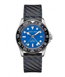 MARC & SONS Diver Watch Automatic GMT ETA 2893-2 MSG-007--4-LS-C3