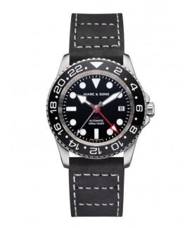 MARC & SONS Diver Watch Automatic GMT ETA 2893-2 MSG-007-3-L3