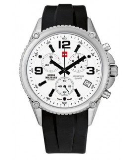 Swiss Military by Chrono Man BuckleClasp Watch SM34018.01