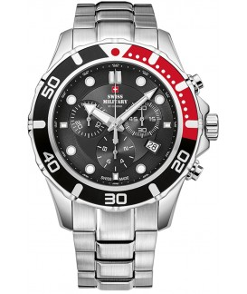 Swiss Military by Chrono Man Double Folding Clasp Watch SM34044.01
