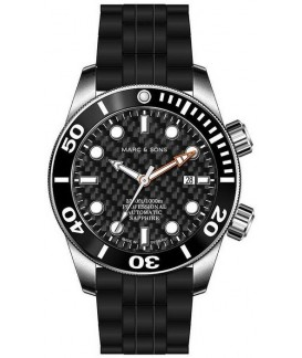MARC & SONS Diver Watch Professional Mod BGW9 MSD-028-17K1