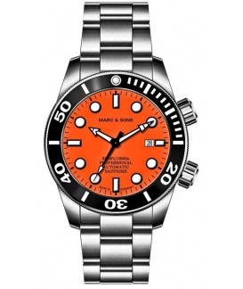 MARC & SONS Diver Watch Professional Mod BGW9 MSD-028-23S