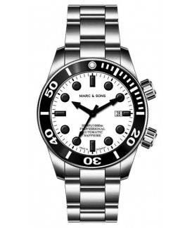 MARC & SONS Diver Watch Professional Mod BGW9 MSD-028-22S