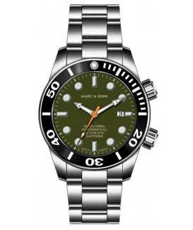 MARC & SONS Diver Watch Professional Mod BGW9 MSD-028-21S