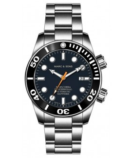 MARC & SONS Diver Watch Professional Mod BGW9 MSD-028-20S