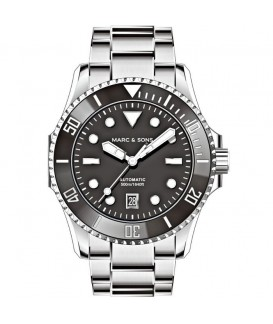 MARC & SONS Diver Watch Professional III Automatic MSD-047-1S