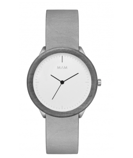 Reloj de madera MAM Originals STAINLESS Light Maple Graphite