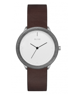 Reloj de madera MAM Originals STAINLESS Light Maple Cooper