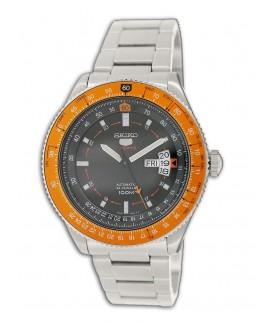 Reloj Seiko Sports Automatic Naranja