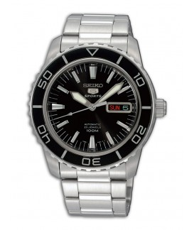 Reloj Seiko Sports Automatic Negro