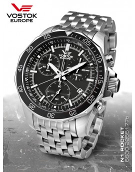 Reloj Vostok Europe Rocket N1 Chrono Armis 2255177b
