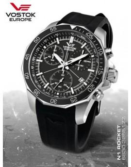 Reloj Vostok Europe Rocket N1 Chrono Caucho 2255177r