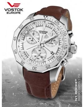 Reloj Vostok Europe Rocket N1 Chrono Piel 2255178