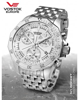 Reloj Vostok Europe Rocket N1 Chrono Armis 2255178b