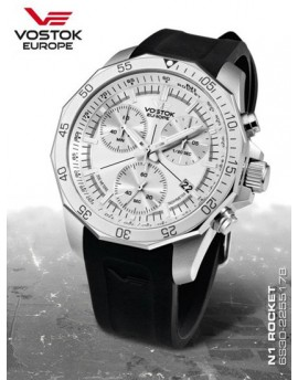 Reloj Vostok Europe Rocket N1 Chrono Caucho 2255178r