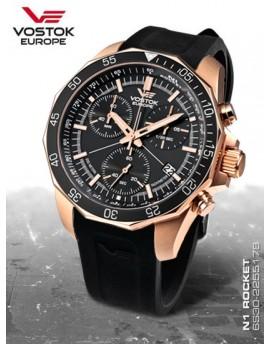 Reloj Vostok Europe Rocket N1 Chrono Caucho 2259179r