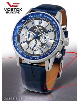 Reloj Vostok Europe GAZ-14 Limousine Chrono Piel 5611132