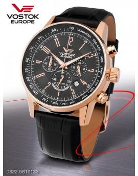 Reloj Vostok Europe GAZ-14 Limousine Chrono Piel 5619133
