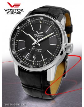 Reloj Vostok Europe GAZ-14 Limousine Tritium Piel 5651137