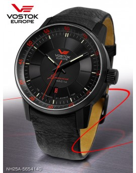 Reloj Vostok Europe GAZ-14 Limousine Tritium Piel 5654140