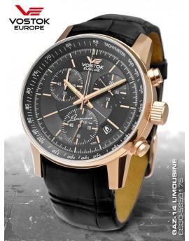 Reloj Vostok Europe GAZ-14 Limousine Tritium Chrono Piel 5659175