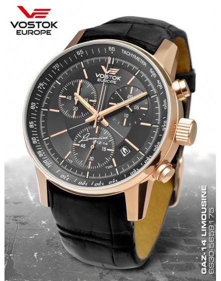 Reloj Vostok Europe GAZ-14 Limousine Tritium Chrono 5659175