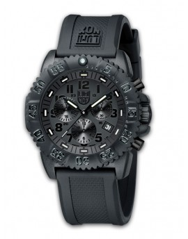Reloj Luminox Navy SEAL Chrono Black Out LX3081BO